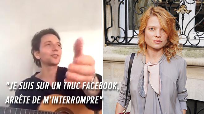 Mélanie Thierry revient sur son engueulade en plein direct avec Raphaël- J'ai eu l'impression de passer pour une ménagère (vidéo)