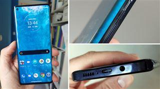Les tests de Mathieu - l'écran de ce smartphone est tellement recourbé qu'il fait office... de bordure