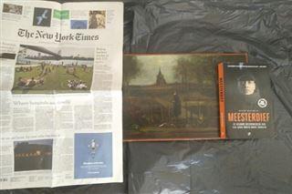 Des photos récentes d'un tableau volé de Van Gogh font surface aux Pays-Bas