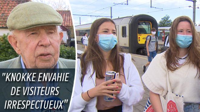 Le bourgmestre de Knokke se plaint des voyageurs sans masque et menace de mettre en demeure la SNCB: les touristes sont surpris