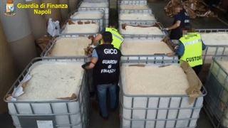 Saisie record en Italie de 14 tonnes d'amphétamines produites en Syrie par le groupe Etat islamique (police)