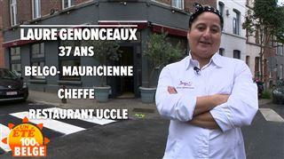 Un été 100% belge- il y a 4 ans, Laure Genonceaux ouvre son restaurant, un rêve d'enfant (vidéo)