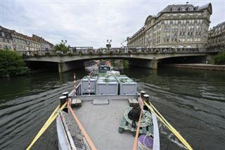 A Strasbourg, les marchandises naviguent pour atteindre le centre-ville