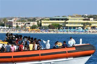 Lampedusa, symbole de la colère de l'extrême droite italienne contre les migrants