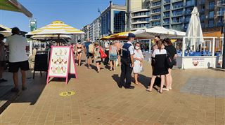 Coronavirus- les bars de plage à la Côte belge reçoivent une nouvelle consigne