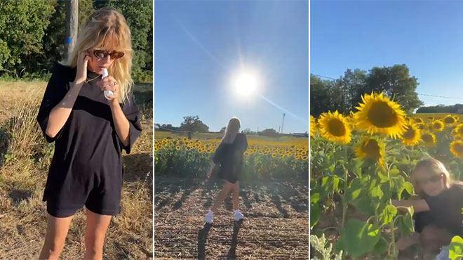 Angèle partage une vidéo HILARANTE- Vous étiez trop chauds au Tournesol Festival