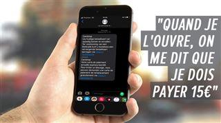 Les SMS frauduleux continuent de spammer les téléphones des Belges- que risquez-vous?