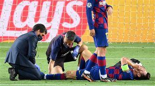 FC Barcelone- encore quelques doutes concernant Messi avant le Bayern 2