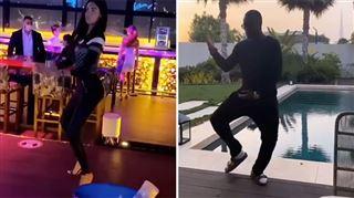 Nabilla moquée par Gims pour sa danse- il lance un challenge qui fait le buzz (vidéo)