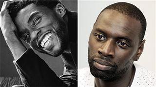 Je n'ai pas les mots- Omar Sy touché par le décès de Chadwick Boseman, star de Black Panther