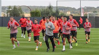 Eden Hazard et Jan Vertonghen ne se sont pas entraînés avec le groupe ce mercredi