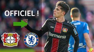 Mercato- Kai Havertz quitte la sélection allemande pour finaliser son transfert à Chelsea