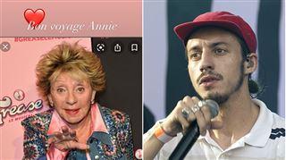 Bon voyage Annie- Roméo Elvis rend hommage à l'artiste belge