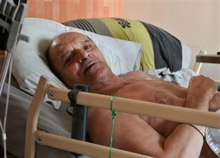 Alain Cocq fortement déshydraté au 3e jour de l'arrêt de ses traitements