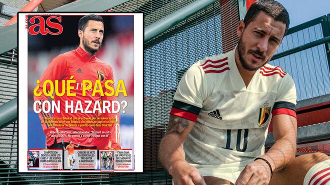 La presse espagnole FLINGUE Eden Hazard: