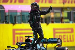 F1- la 95e pole position d'Hamilton, mais la première au Mugello