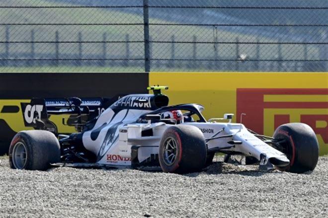 F1- Gasly abandonne dès le 1er tour du Grand Prix de Toscane, une semaine après sa victoire surprise à Monza