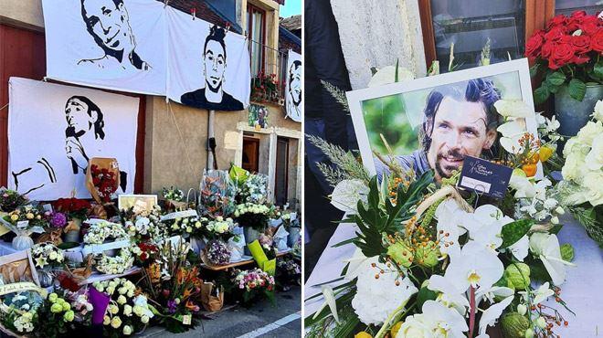 Le dernier adieu Bertrand-Kamal- tout le village et Denis Brogniart lui rendent un vibrant hommage (photos)