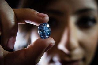 Rare découverte de cinq diamants bleus en Afrique du Sud