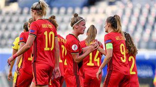 Euro 2022- les Red Flames HUMILIENT la Roumanie et se rapprochent de la qualification (vidéo) 2