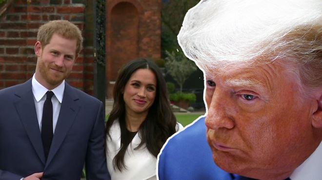 Trump s'en prend à Meghan Markle et souhaite bon courage au prince Harry