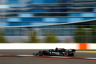 GP de F1 de Russie- les Mercedes dominent les premiers essais libres