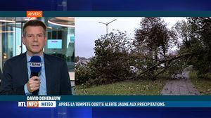 Pas de répit: après la tempête Odette, d'intenses pluies s'abattent sur la Belgique