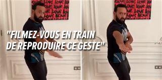 Coronavirus- Cyril Hanouna lance un CHALLENGE et demande à Emmanuel Macron et à Booba de le suivre (vidéo)