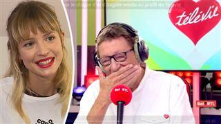 Télévie- le disque d'or d'Angèle vendu à 400.000 euros, la chanteuse hyper touchée réagit (vidéo)