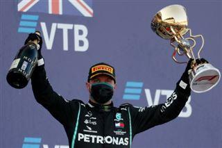 GP de F1 de Russie-  Bottas bat Verstappen, record reporté pour Hamilton