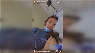 Nabilla arrive en urgence à l'hôpital- Je suis en anémie et j'ai des vertiges