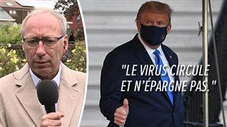Donald Trump atteint du coronavirus- quel est ce traitement expérimental dont il bénéficie?