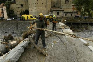 Au moins quatre morts en France et en Italie après des crues hors normes