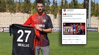 La boulette- le nouveau club de Mirallas annonce sa signature... en se trompant de joueur (photo)
