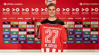 Mercato- le PSV s'offre Mario Götze, libre de tout contrat (vidéo)