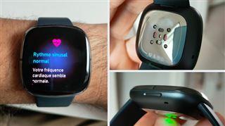 Les tests de Mathieu- rythme et accident cardiaque, température, stress… la Fitbit Sense est la première montre SANTÉ
