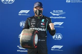 F1- Bottas en pole position pour le GP de l'Eifel au Nürburgring