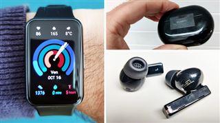 Les tests de Mathieu- avec ces écouteurs sans fil et cette montre, Huawei nous rappelle qu'il connait bien son métier