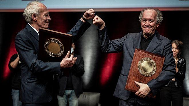 Les frères Dardenne une nouvelle fois récompensés- les réalisateurs ont reçu le Prix Lumière à Lyon