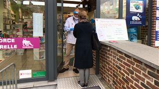 Une pharmacie de Haneffe crée son centre de dépistage Covid pour éviter les files