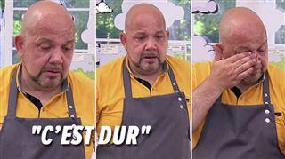 Le Meilleur Pâtissier- les larmes de François, complètement DÉPITÉ face à son piquenchagne raté (vidéo)