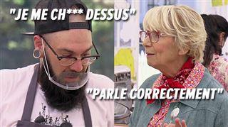 Le Belge Florian PÈTE LES PLOMBS en pleine épreuve du Meilleur Pâtissier- Mercotte forcée d'intervenir (vidéo)