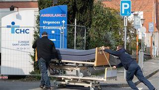 Coronavirus- Liège envisage d'établir un hôpital de campagne dans l'ancienne clinique Saint-Joseph