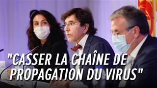 Coronavirus en Wallonie et à Bruxelles- couvre-feu, maisons de repos, enseignement... voici les nouvelles mesures