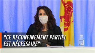 C'est un reconfinement partiel- la ministre wallonne de la Santé Christie Morreale à propos des nouvelles mesures wallonnes