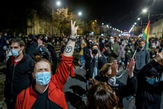 Pologne- manifestantions contre l'interdiction quasi totale de l'avortement