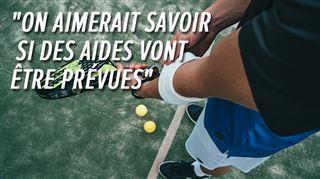 Plus de sport pour les plus de 12 ans- Moi, je ne peux pas livrer mes cours à domicile, déplore un moniteur de tennis