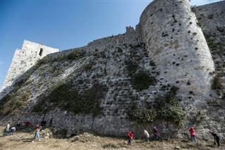 En Syrie, un château des croisés tente de retrouver son lustre d'antan