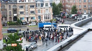 Nouvelle manifestation à Schaerbeek devant l'ambassade de Guinée- la police arrête dix personnes