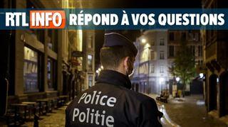 Couvre-feu en Wallonie et à Bruxelles- faut-il une dérogation écrite si on va au travail?